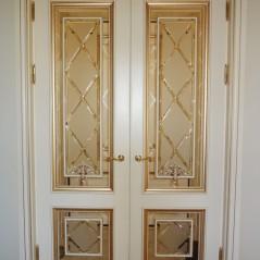 Витраж в двери №1