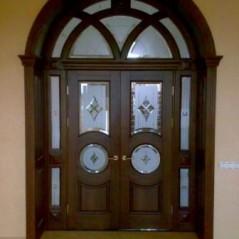 Витраж в двери №2