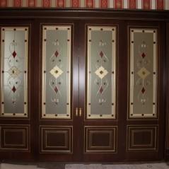 Витраж в двери №6