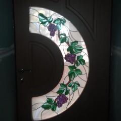 Витраж в двери №9