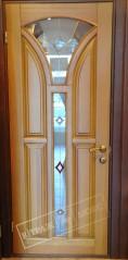 Витраж в двери №18