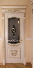 Витраж в двери №15