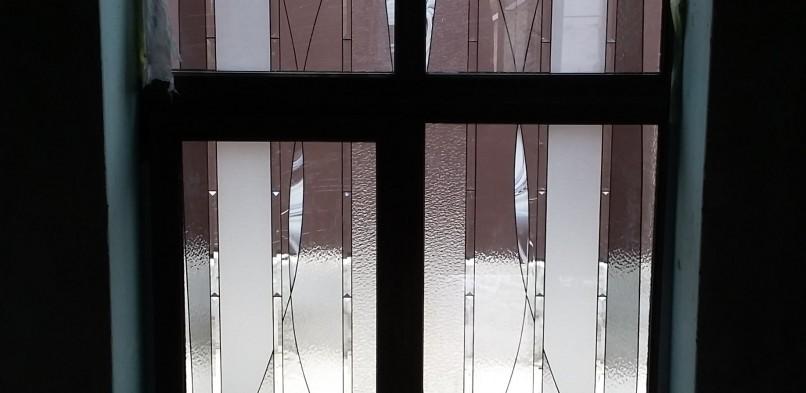 Витраж в окно №9