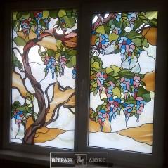 Витраж в окно №11