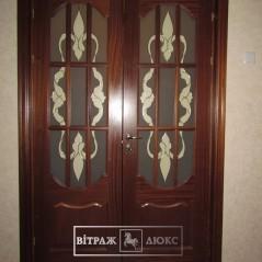 Витраж в двери 31