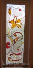 Витраж в двери 32