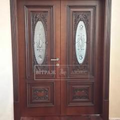 Витраж в двери №24
