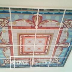 Витраж для потолка №18