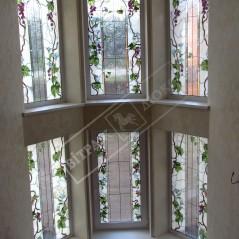 Витраж в окно №13