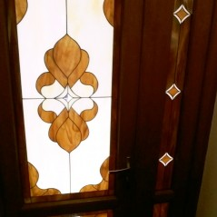 Витраж в двери 37