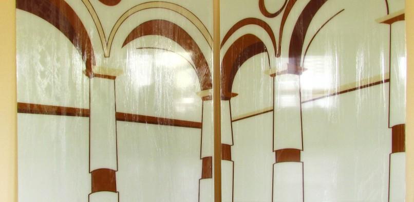 Покраска на стекле №10