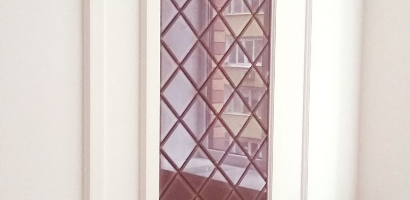 Покраска на стекле №17